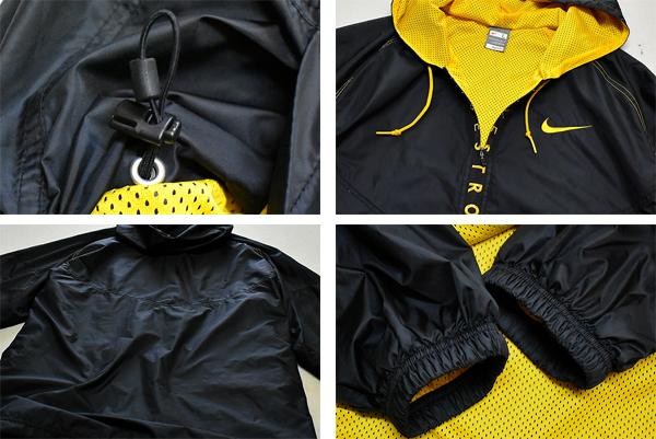 ナイキNIKEナイロンジャケット90sビンテージウィンドブレーカー画像メンズレディースOK@古着屋カチカチ