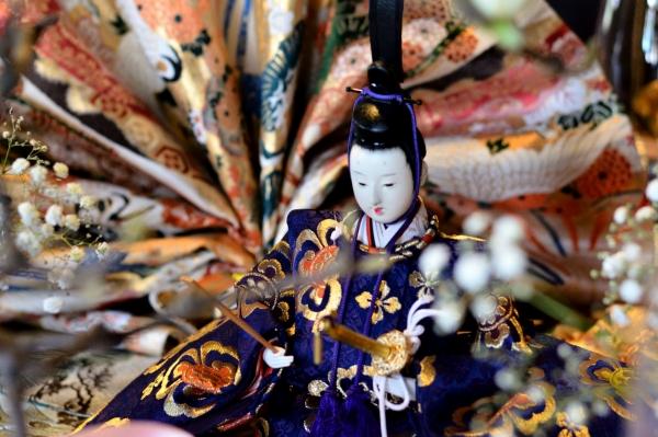 外交官 桃の節句装飾5