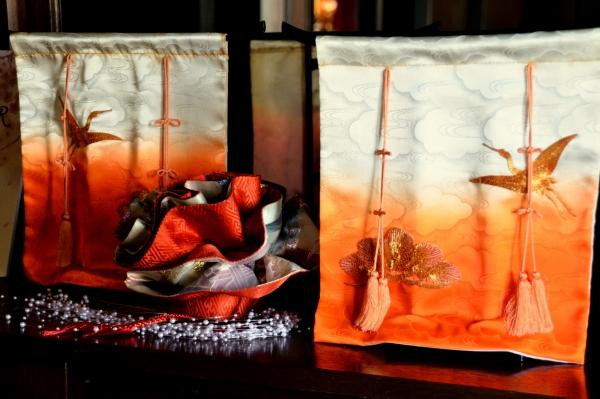外交官 桃の節句装飾2