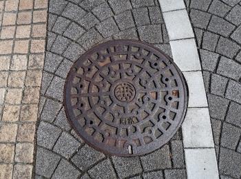 浜松マンホール 雨水