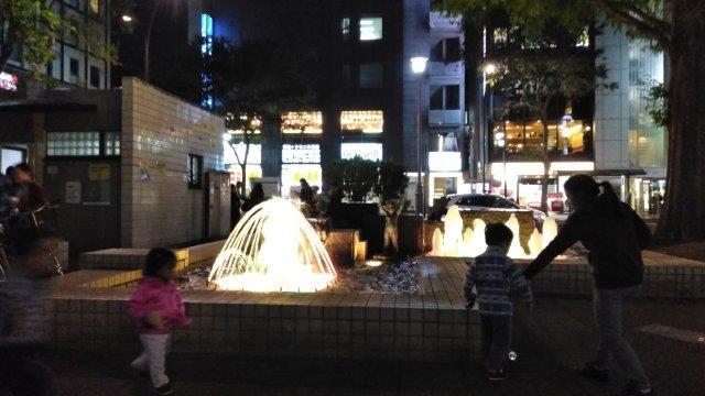 阿佐ヶ谷公園夜