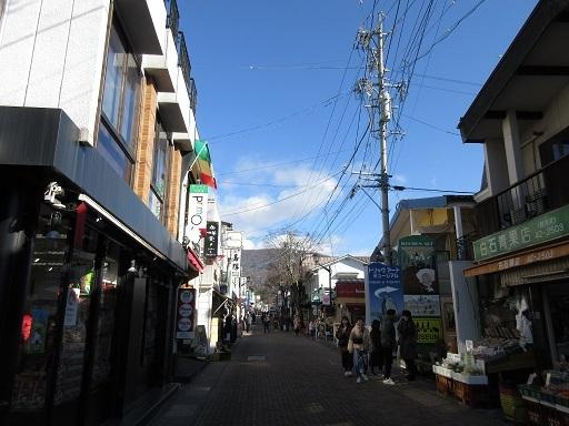 旧軽井沢商店街