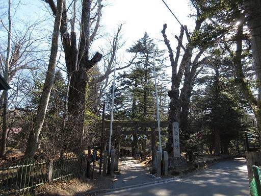 旧軽井沢諏訪神社