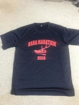 奈良マラソン2018 Tシャツ