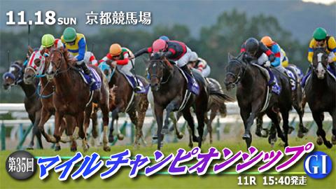 【競馬レース展望】第35回 マイルチャンピオンシップ(GⅠ)