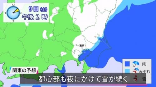 【競馬板】たかが5cm程度の雪予報で右往左往の東京都民