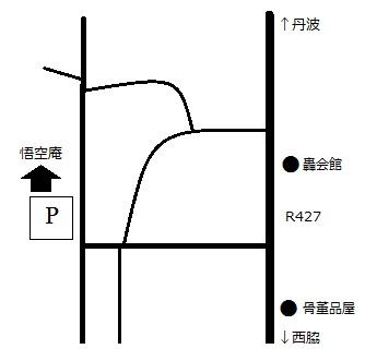 悟空庵地図