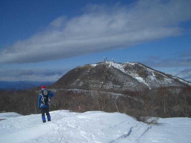 地蔵岳を眺めてる?