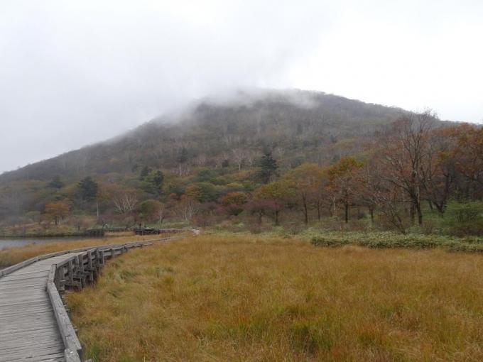 ガスの小地蔵岳