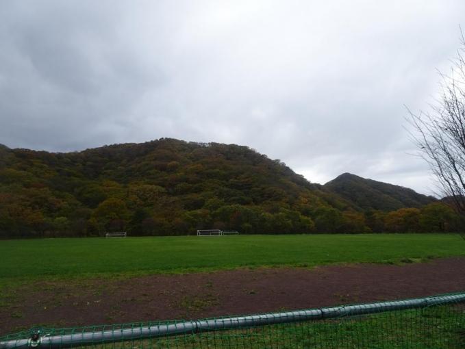 松の沢グランドから歩いて北山