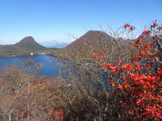 榛名富士、烏帽子岳、榛名湖