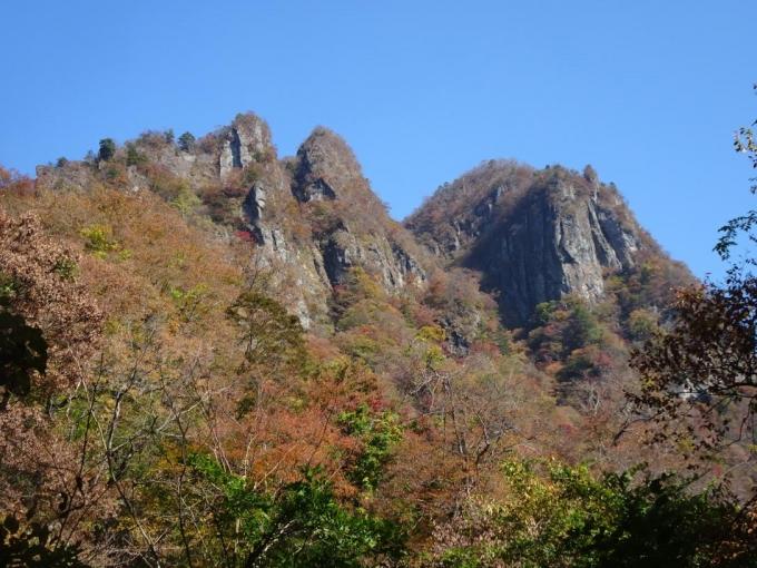 中間道四阿から相馬岳