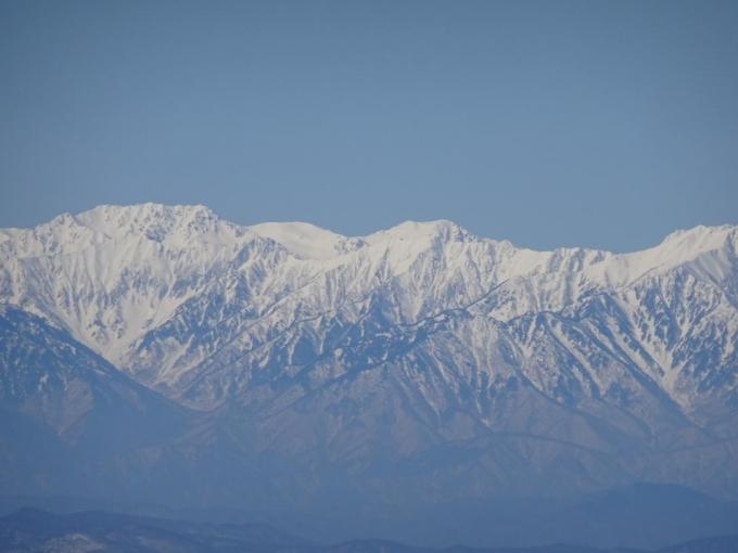 立山が奥に見える