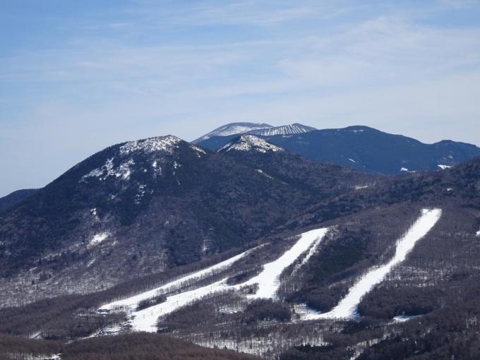 篭の登山と浅間山