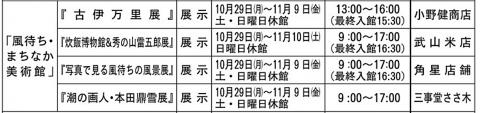 10月4日風待ち美術館