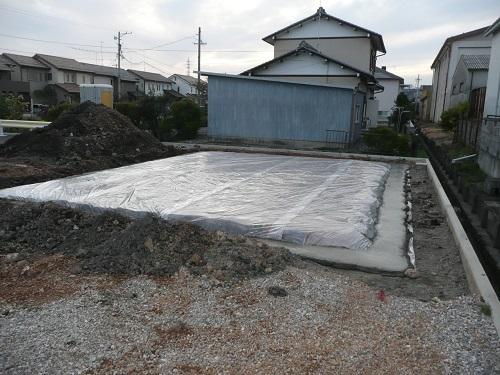 赤坂新町 竹中邸 基礎工事
