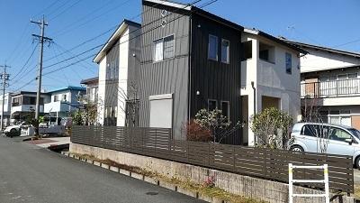 田中邸 フェンス補修工事 後
