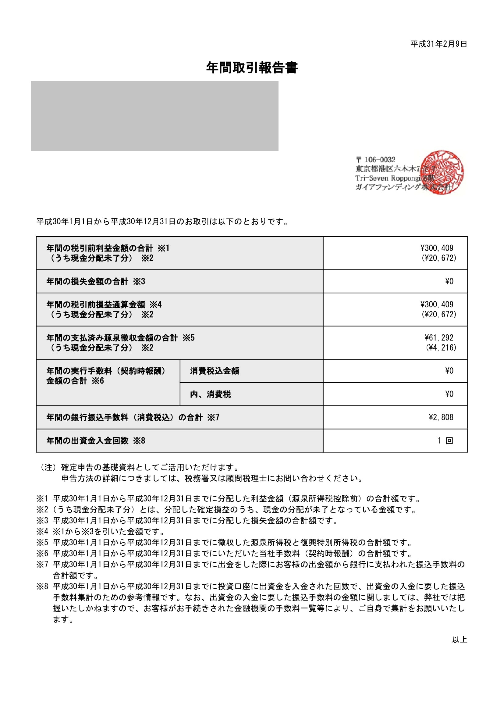 ガイアファンディング年間取引報告書_312_20190209-1
