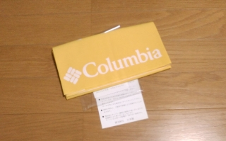 コロンビアてっぺん手ぬぐい -キャンペーン当選品-