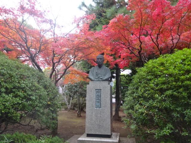佐倉高校 堀田銅像