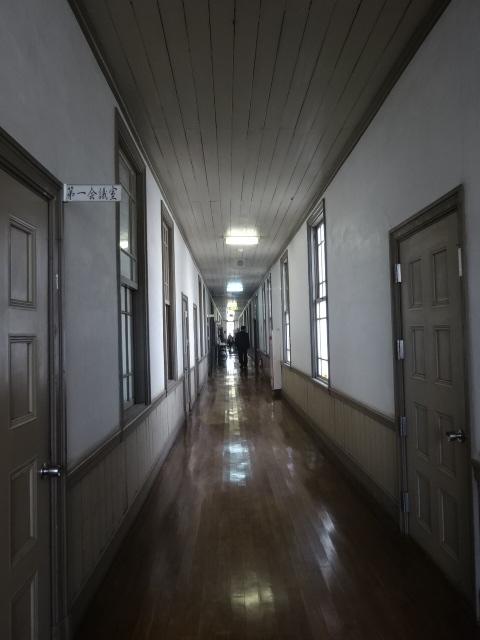佐倉高校 廊下