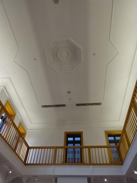 佐倉市立美術館 天井