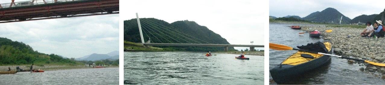 長良川、藍川橋―河渡橋1