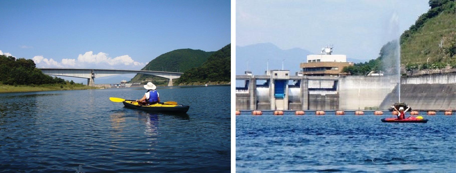 阿木川ダム湖3