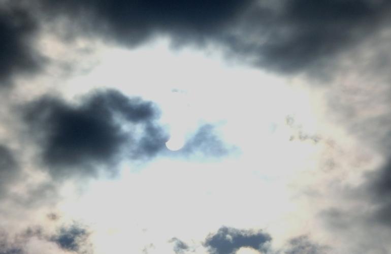 日食観測5