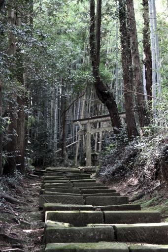 水神社の参道