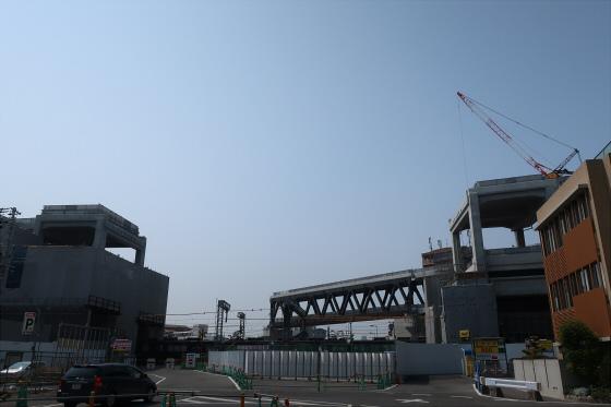 阪急淡路駅工事中01