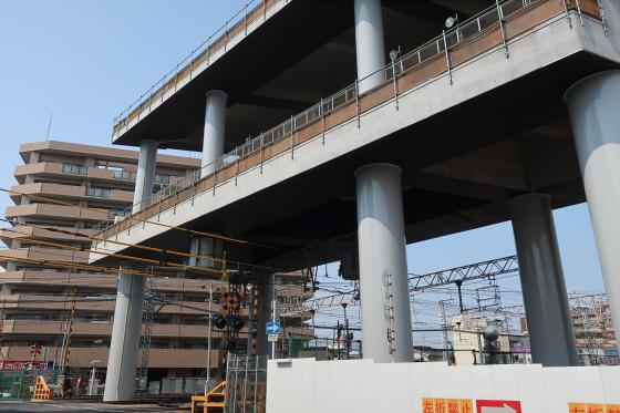 阪急淡路駅工事中11