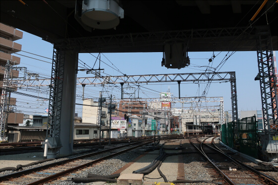 阪急淡路駅工事中12