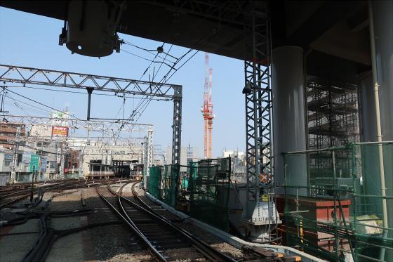 阪急淡路駅工事中13
