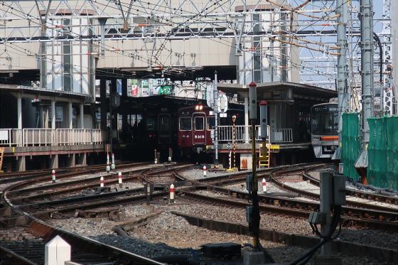 阪急淡路駅工事中15