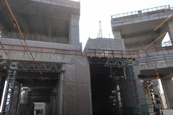 阪急淡路駅工事中16