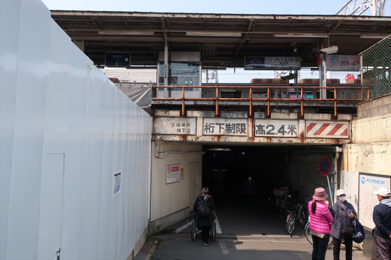 阪急淡路駅工事中17