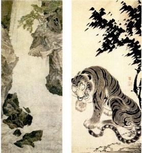 丸山応挙筆「大瀑布図」重要文化財