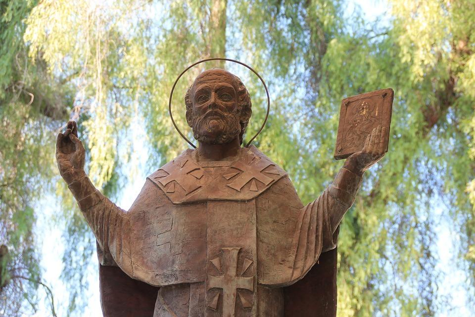 聖ニコラス像