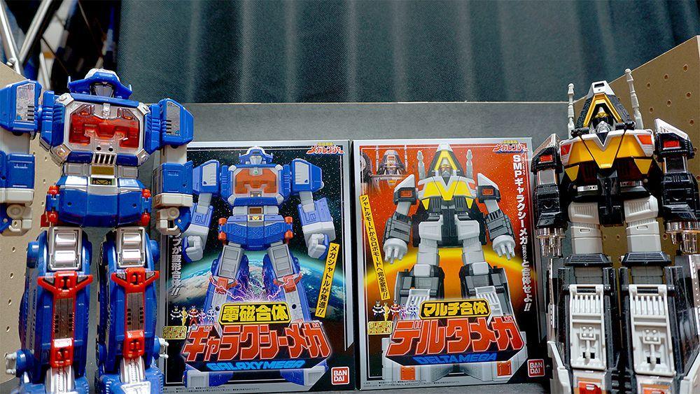 【玩具系写真】スーパーミニプラ ギャラクシーメガ デルタメガ発売