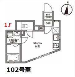 クレムネスト大井ヒルトップ102_R