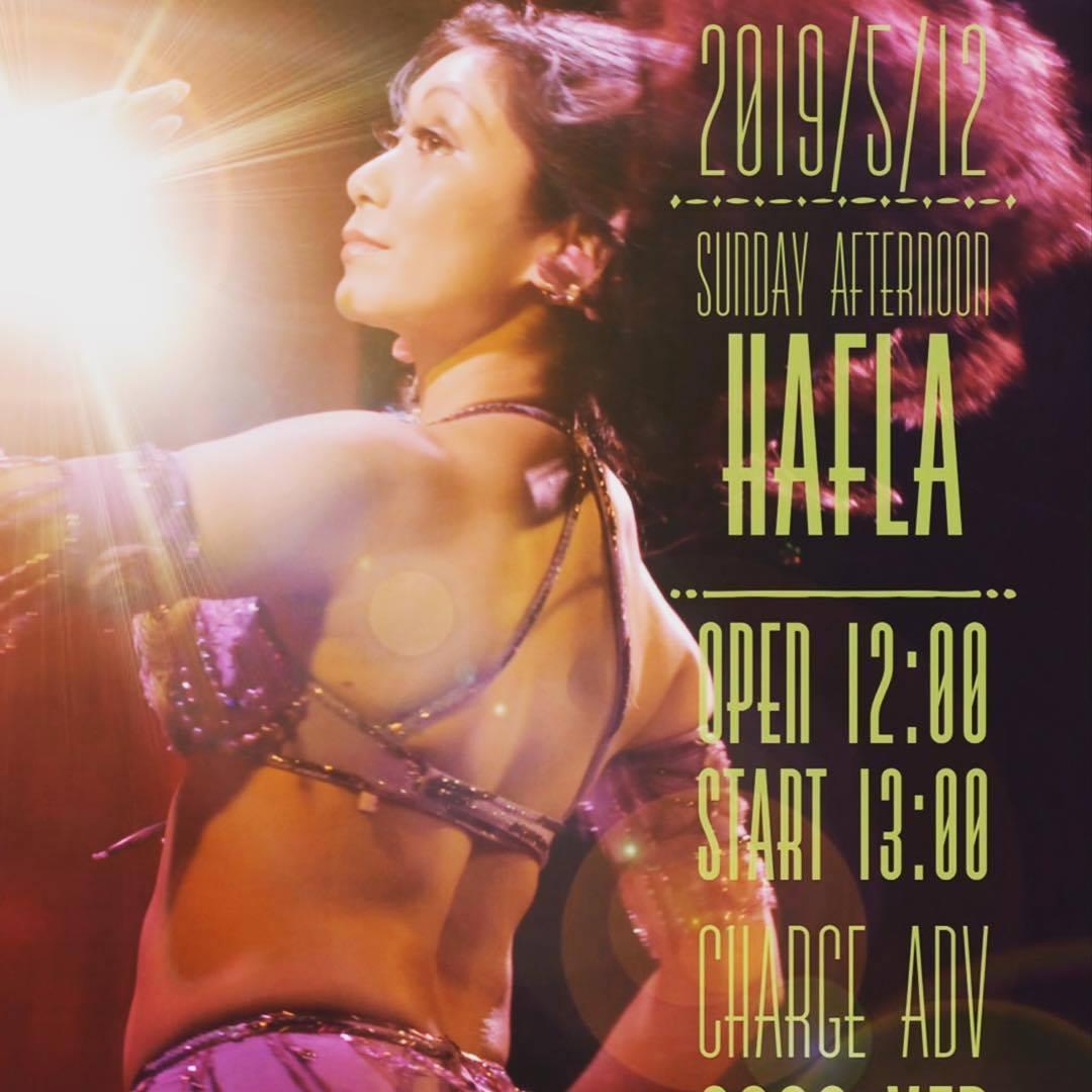 2019/5/12@yokohama AFR LYLA Belly Dance studio *Sunday aftanoon Hafla*