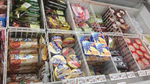 アイスクリーム売り場
