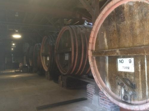 1階のワイン貯蔵庫