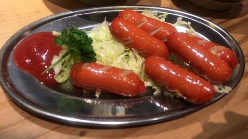 赤ウインナー(内410円)