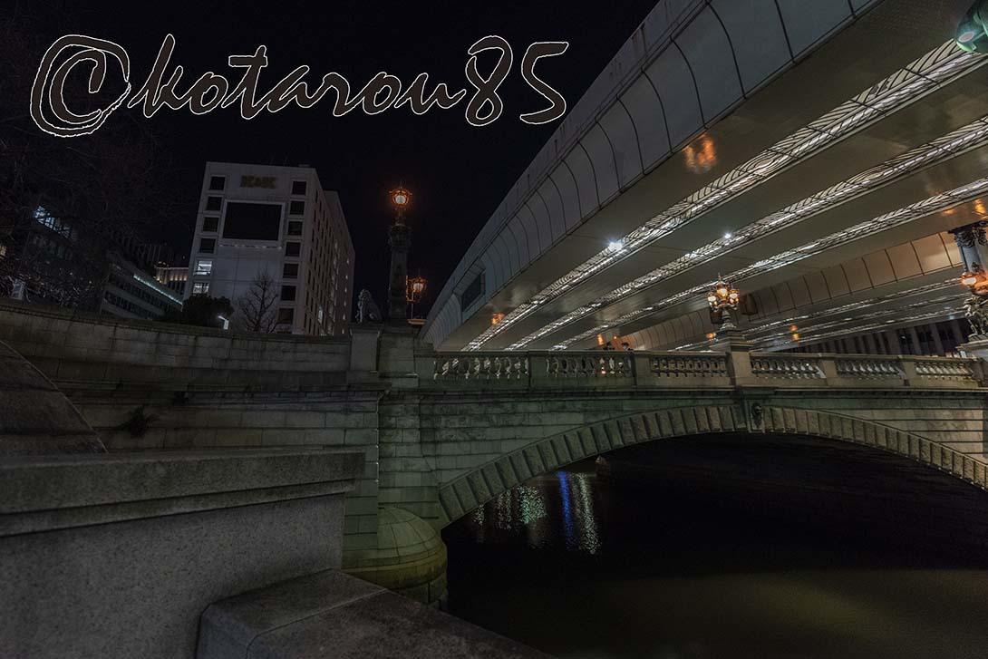 ハナキン深夜の日本橋 20190202