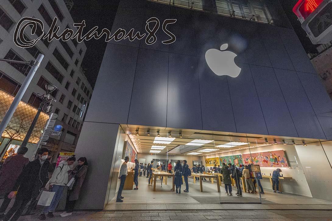 銀座アップルショップ 20190224