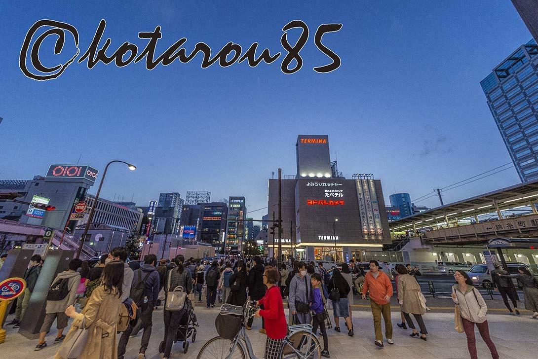 春分の日の錦糸町駅前 20190322