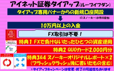 アイネット証券タイアップキャンペーン2019年2月FC2