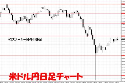 20190126米ドル円日足チャート